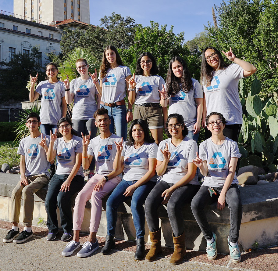 Resource recovery student interns