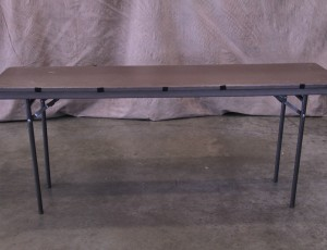 Table, 6ftx18in narrow