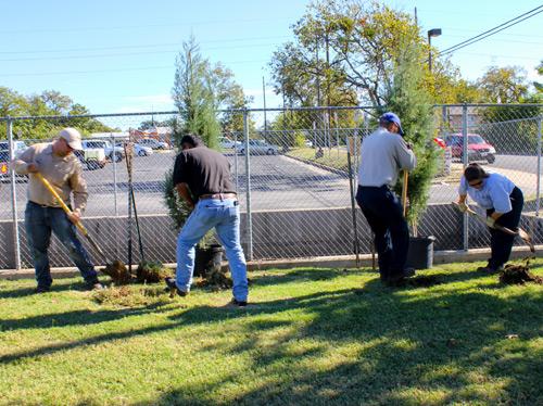 Arbor Day 2014 Tree Planting